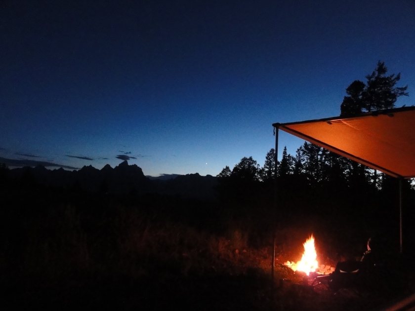 Not a bad spot for a campfire.