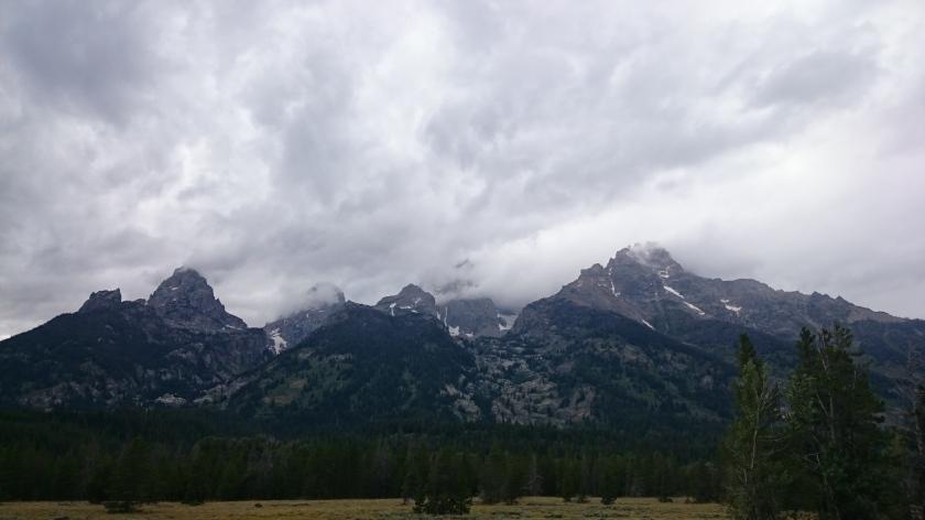Stormy Tetons.