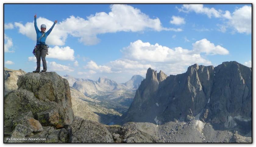 What a beautiful summit! Photo credit: Rich Palatino