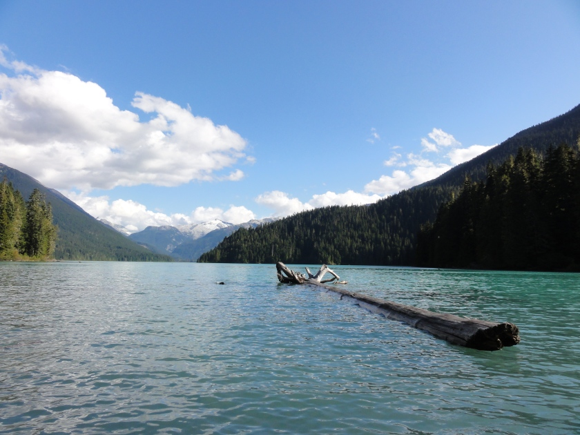 Cheakamus Lake.