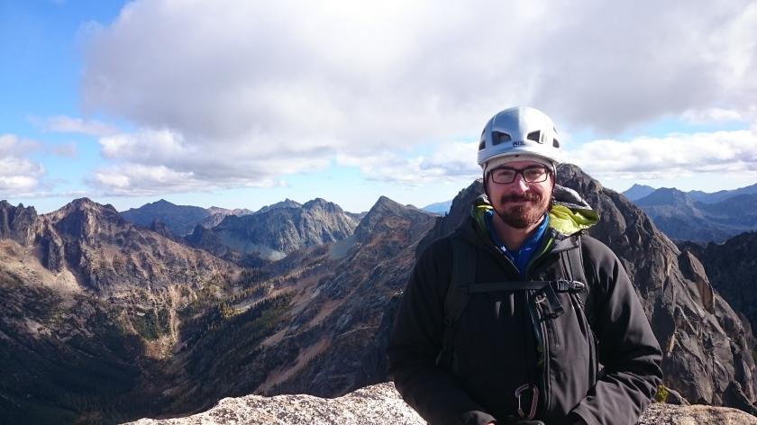 Steve on the summit!