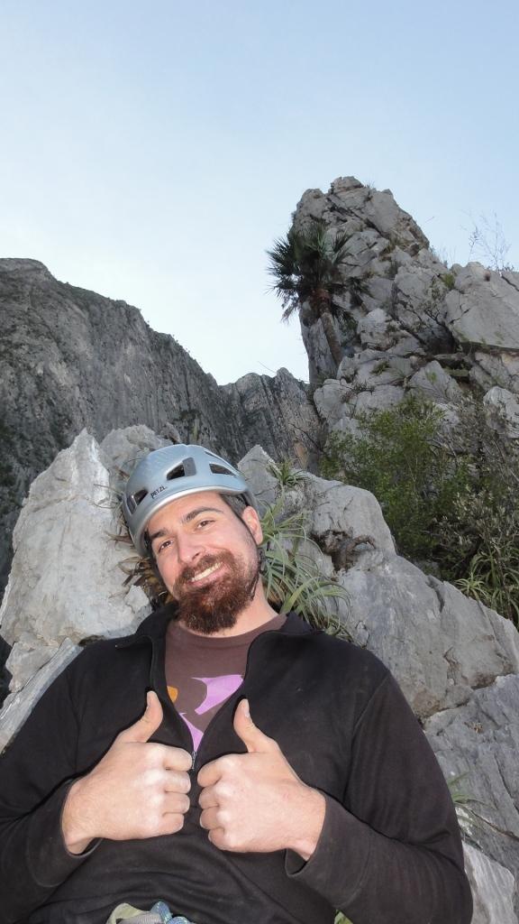 Happy Steve on the Satori summit.