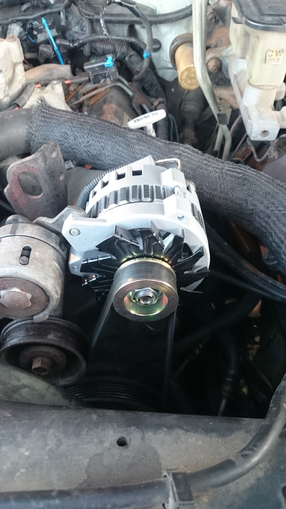 A shiny new alternator for Boris.  Thank you John for the help with the diagnosis!