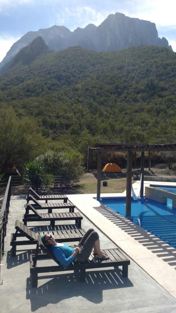 Luxury dirtbagging at La Posada.